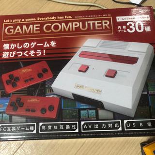ファミコン互換ゲーム機カセット6本セット