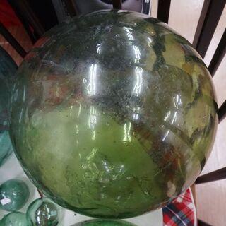 ガラスの球☆昔の浮き球☆個性的なインテリアとして☆直径約3…
