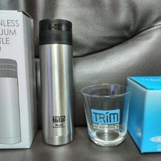 【非売品】日本トリム 水筒・ガラスコップ 新品未使用品