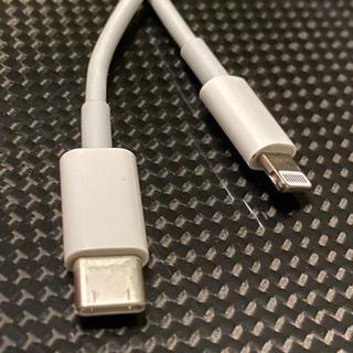 USBタイプCのライトニングケーブル