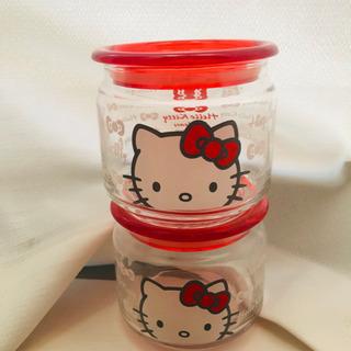 キティちゃん ガラスキャニスター
