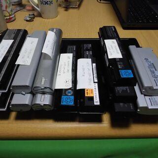 PCバッテリー 13コ さしあげます ,0円 ,PC用