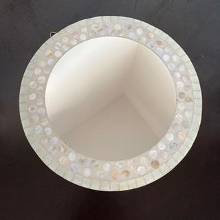 壁掛け鏡✩︎ シェルの画像