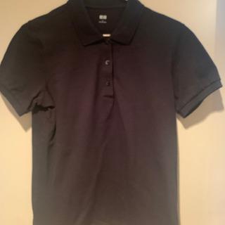 ユニクロ ポロシャツ半袖 Lサイズ2枚組 黒と紺