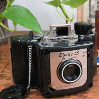 昭和レトロカメラ『Ebony 35 De luxe エボニー 3...