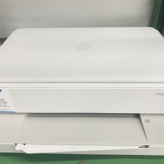 〈〉HP ENVY6020 プリンター ホワイト タッチパネル式
