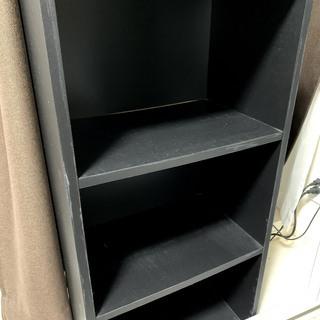 カラーボックス3段 黒