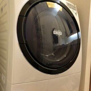 【5年保障証付き】ドラム型洗濯機 容量11kg 日立ビックドラム...