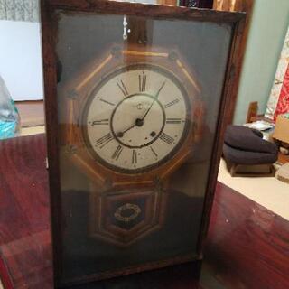 アンティーク 柱時計