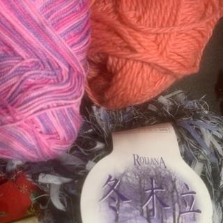 【お取引先確定】毛糸と端切れ。アメリカンキルト ハンドメイドにどうぞ。 - 羽島市
