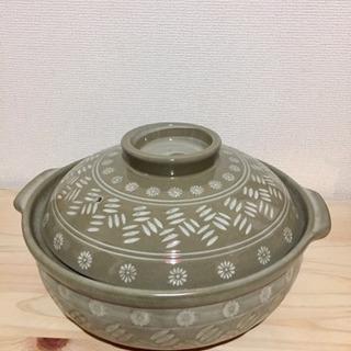 土鍋(3〜4人用) ※お取引中※