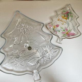 曽我グラス クリスマスツリー ガラス食器