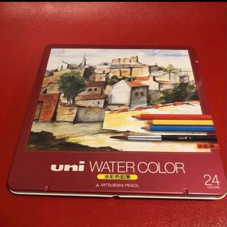 水彩 色鉛筆uni スケッチブックのおまけ付