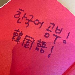 韓国語オンライン授業 現在空き無し(空きができ次第書き直します)