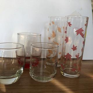 グラス 5個