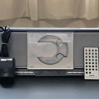 【無料】SANYO CDステレオシステム DXD-N300M