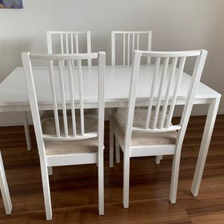 IKEA ダイニングセット ダイニングテーブル 椅子 4人用