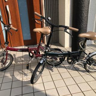 BMW MINI 折り畳み自転車 2台ペア