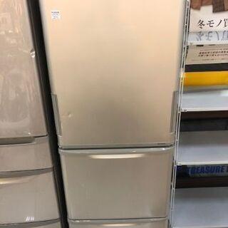 6ヶ月動作保証付 SHARP 3ドア冷蔵庫 350L 2014年...