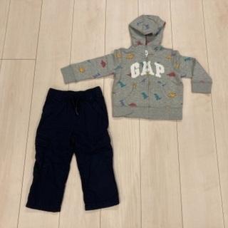 baby Gap (ベビーギャップ) パーカー&ズボン セット ...