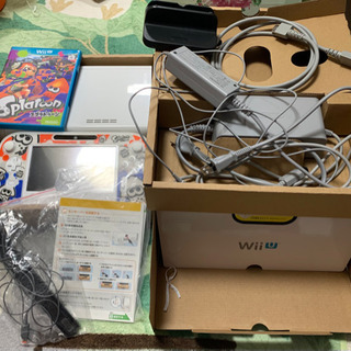 【新品同様】Wii U 本体+スプラトゥーンセット