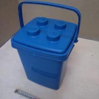 LEGO レゴ バケツ 青