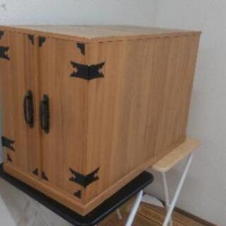 木製 掛け軸入れ 売ります。
