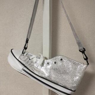 ショルダーバッグ 子供用 スニーカー型 おもしろ インテリア バッグ