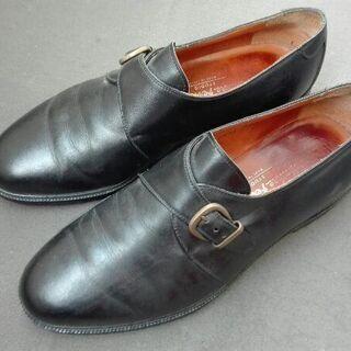 フェラガモのイタリア製高級革靴★25.5cmくらい★箱付き