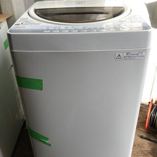 【重】1223-1  7kg TOSHIBA 洗濯機 2014年...