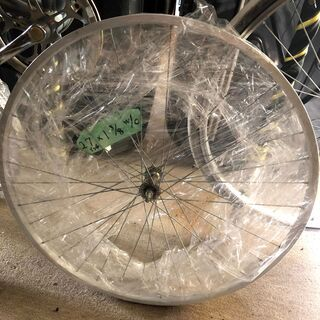 自転車 たぶん前輪 ホイール 中古 サイズ各種