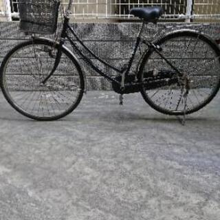 自転車(ブリジストン、カゴ付、3段階切り替え付)の画像