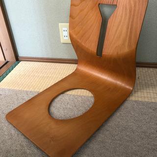 木製  座椅子 和室や飲食店に合います!