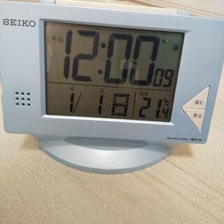 【取引中】SEIKO 電波/アナログ時計