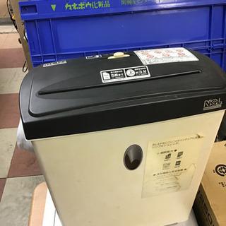 ナカバヤシ パーソナル シュレッダー NSE-104  動作品