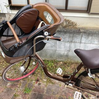 子ども乗せ自転車 サカモトテクノ製 3段切り替え