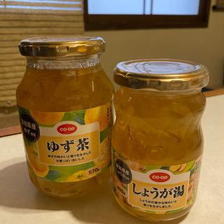 柚子茶、ショウガ湯