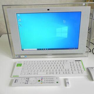 【受付終了】SONY 一体型PC【PCG-2A6N】Win10P...