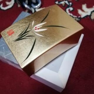 (♦新品)♦️(超超激安)♦️高級金箔細工の小箱♦️名刺が…