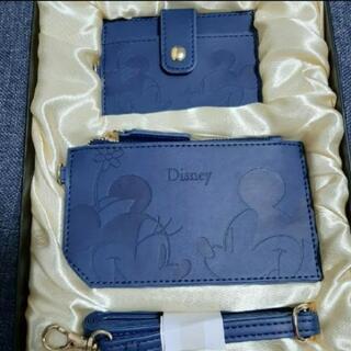 新品未開封 ディズニー カードケース&ミニウォレットのセットです