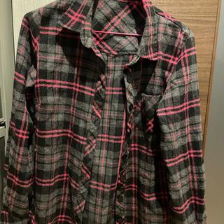 《値下げ!》着回しシャツ チェックシャツ アウター 可愛い