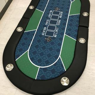 ポーカーテーブル テーブルトップ 二つ折り 送料込み