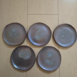 【決まりました】備前焼 お皿 5枚
