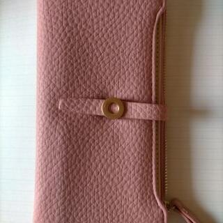 レザー風 ピンク 財布 新品