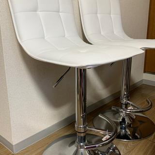 ニトリ カウンターチェア(2脚) - 家具