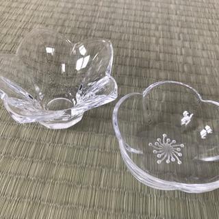 小さいお花ガラス