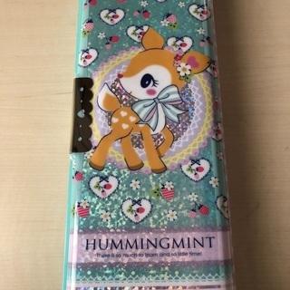 新品 筆箱 ハミングミント バンビ