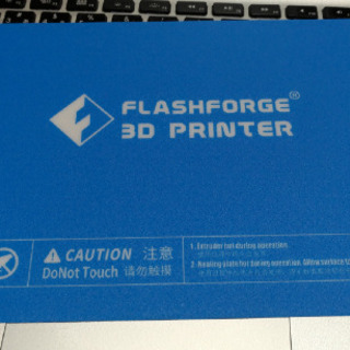 3Dプリンタ用プリントシート FLASHFORGE Creato...