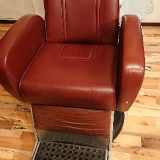 理美容室、椅子