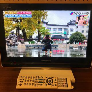テレビ AQUOS 16型 2011年式